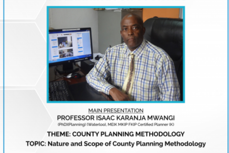 SECOND SEMINAR ON MENTORSHIP IN PLANNING FOR COUNTIES WILL BE ON 8TH MAY 2019